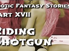 Erotic Fantasy Stories 17: Riding Shotgun