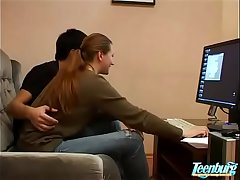 Horny Sisters Get Brothers Flannel Be useful to Xmas - WWW.FAPLIX.COM