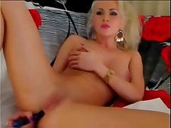 Horny fair-haired masturbates on live cam - more at AngelzLive.com
