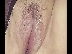 Bubblz Galore Spreads Pussy