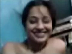 Desi Bhabi Enjoy on her Husband Friend