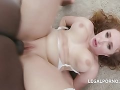 Waka Waka Blacks are Coming, Skylar Snow gets it rough with 5BBC, balls deep anal, DAP, Gapes, Creampie Swallow GIO848