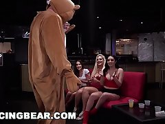 DANCING BEAR - Sean Lawless Slings Dick At Wild CFNM Party With Zoey Parker, Daisy Stone, Lexi Brooke, and More!