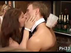 Tons for oral pleasure from blondes and massing group sex at night club