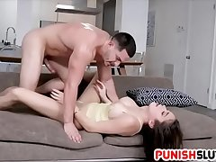 Rough Habitation Fun With Submissive Teen Handsomeness Ashly Anderson