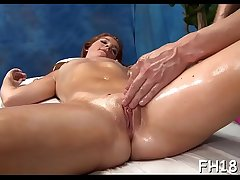 Sexy sizzling gets a cunt rub down then fucked hard!