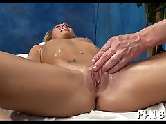 Naughty playgirl fucks with an increment of gives a hot massage!
