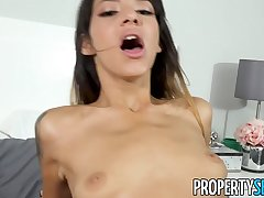 PropertySex - Shady babe with tight body fucked hard at the end of one's tether roommate'_s big unearth