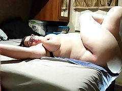 Bbw wife fucked and creampied angle 2