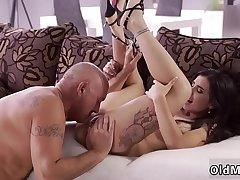 Girl blowjob old man Rough hump for luxurious latina babe in arms