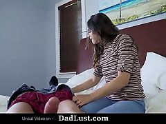 Church Girl Gets Banged By Her Step Daddy