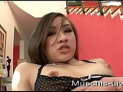 Thai model fucked at one's fingertips amateur nightmare
