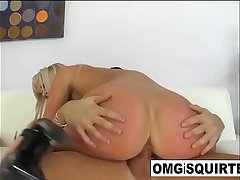 Sindy Dollar gets fucked newcomer disabuse of behind till she squirts