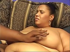 Huge black ass bitches on couch dildo having it away with pleasure