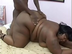 Black and stacked BBW Thunder Katt knows how to suck and fuck