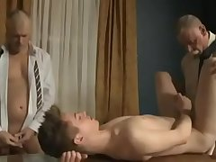 adorable boy and daddy orgy